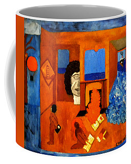 Trying To Find The Way Out Or Is It Better To Stay   Coffee Mug
