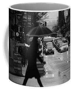 Coffee Mug featuring the photograph Trying To Stand Out  by Empty Wall