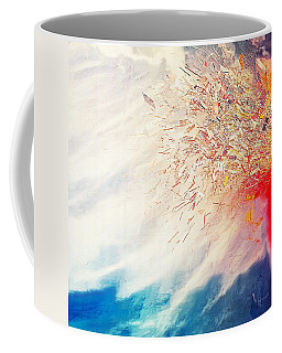 Coffee Mug featuring the painting Tsunami by Mark Taylor