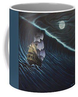 Tsunami Ship Coffee Mug