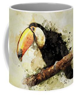 Tucan On The Branch Coffee Mug
