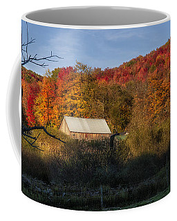 Coffee Mug featuring the photograph Tucked Away by Mark Papke