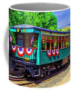 Tucson Cornelia And Gila Bend R R Train Car Coffee Mug