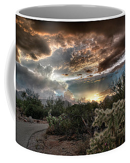 Tucson Mountain Sunset Coffee Mug