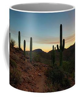 Tucson Mountain Sunset Coffee Mug
