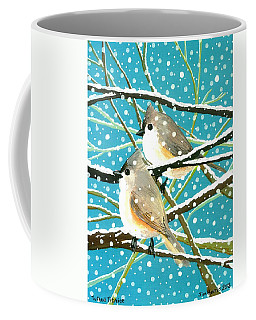 Tufted Titmice Coffee Mug