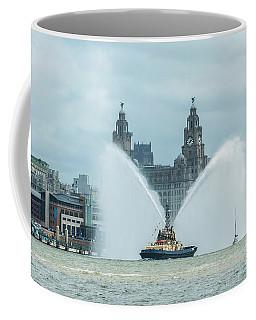 Tug Boat Fountain Coffee Mug