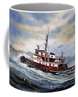 Tugboat Earnest Coffee Mug