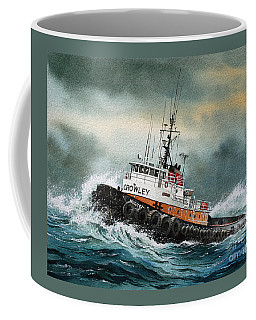 Tugboat Hunter Crowley Coffee Mug