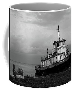 Docked On The Shore Coffee Mug