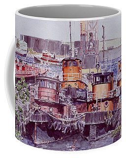 Tugboats Kill Van Kull Staten Island Coffee Mug