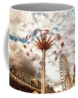 Tuilerie Garden Paris Swings Coffee Mug