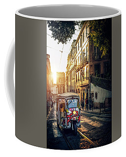 Tuk-tuk In Lisbon Coffee Mug