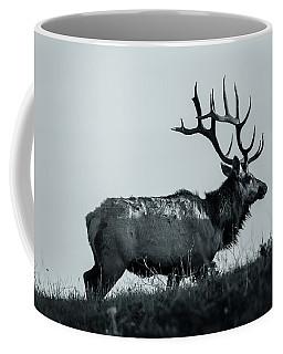 Coffee Mug featuring the photograph Tule Elk Bw by Jonathan Nguyen