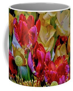 Tulip Bouquet Coffee Mug by Sandy Moulder