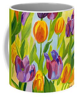 Tulip Fest Coffee Mug by Meryl Goudey
