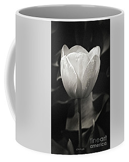 Tulip In Black And White Coffee Mug