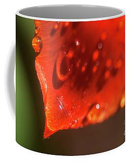Tulip Leaf Droplets-2209 Coffee Mug