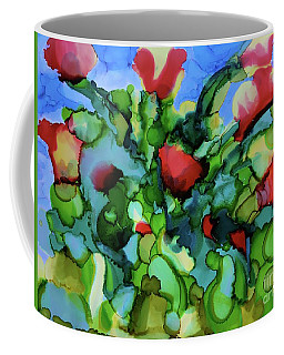 Tulip Poppy Coffee Mug