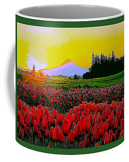 Tulip Sunrise Coffee Mug