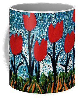 Tulip Time Coffee Mug by John Scates
