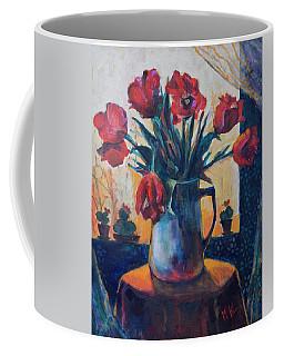 Tulips And Cacti Coffee Mug