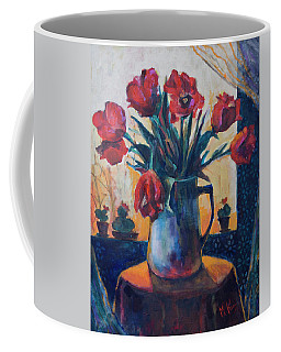 Tulips And Cacti Coffee Mug