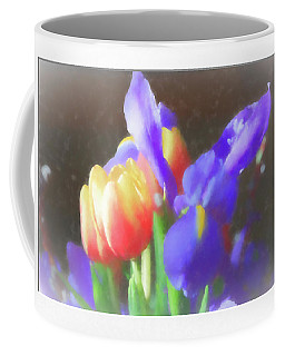 Tulips And Iris Coffee Mug