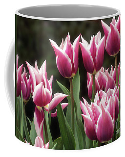 Tulips Bed  Coffee Mug by Kim Tran