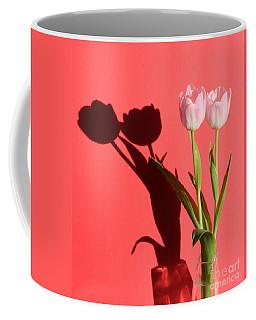 Tulips Casting Shadows Coffee Mug