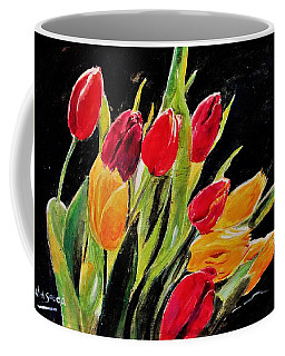 Tulips Colors Coffee Mug