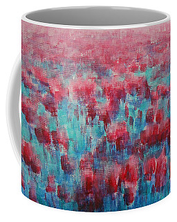 Tulips Dance Abstract Coffee Mug