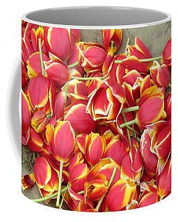 Tulips Heads Coffee Mug