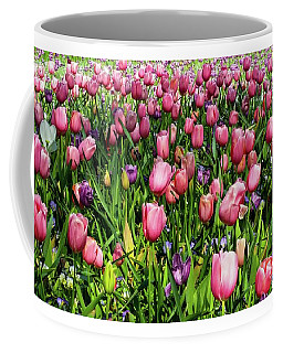 Coffee Mug featuring the photograph Tulips In Bloom by D Davila