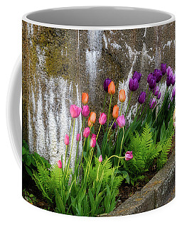 Coffee Mug featuring the photograph Tulips In Ruin by Michael Hubley