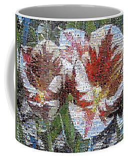 Tulips In Springtime Photomosaic Coffee Mug