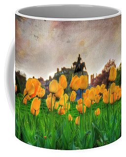 Tulips In The Boston Public Garden Coffee Mug