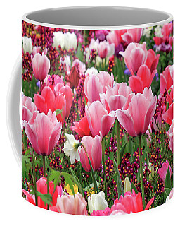 Coffee Mug featuring the photograph Tulips by James Eddy