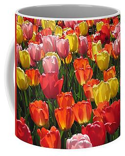 Tulips Like Sunlight Coffee Mug