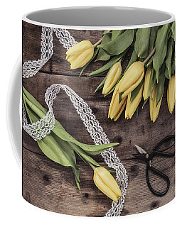 Coffee Mug featuring the photograph Tulips Of Spring by Kim Hojnacki