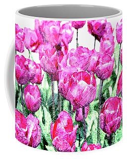 Tulips  Coffee Mug by Patricia Hofmeester