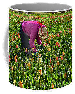 Tulips Picker Coffee Mug