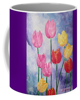 Tulips - Red-yellow-pink Coffee Mug