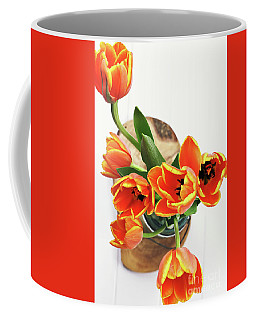 Tulips Coffee Mug by Stephanie Frey