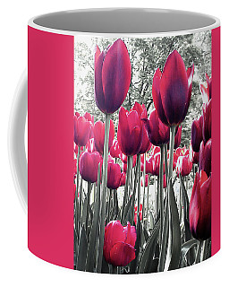 Coffee Mug featuring the photograph Tulips Tinted by Melinda Blackman