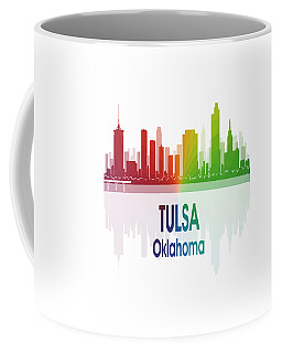 Tulsa Ok 1 Vertical Coffee Mug