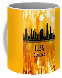 Tulsa Ok 3 Vertical Coffee Mug