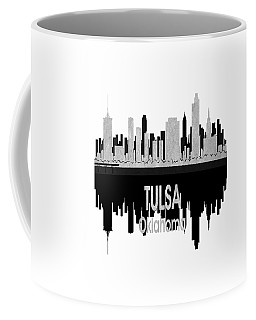 Tulsa Ok 4 Vertical Coffee Mug