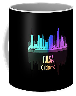 Tulsa Ok 5 Vertical Coffee Mug