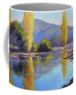 Tumut River Poplars Coffee Mug